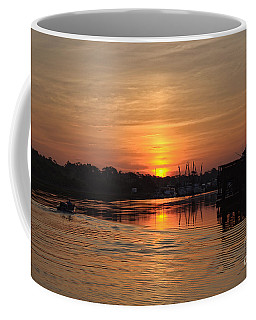 Glory Of The Morning On The Water Coffee Mug