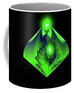 Coffee Mug featuring the mixed media Glow by Kevin Caudill