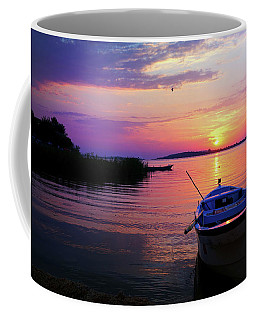 Coffee Mug featuring the photograph Glow Of Sunset by Lilia D