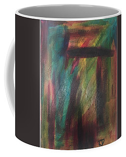 Coffee Mug featuring the painting Glow by Rebecca Davidson