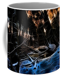 Coffee Mug featuring the photograph Glow River by Michaela Preston