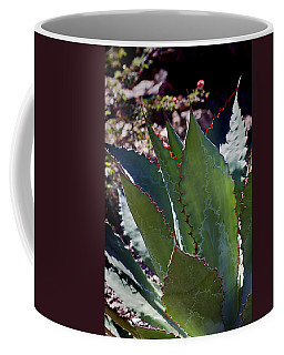 Coffee Mug featuring the photograph Glowing Agave by Phyllis Denton