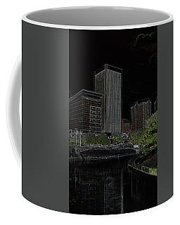 Glowing City Coffee Mug