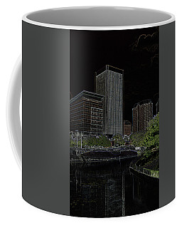 Glowing City Coffee Mug