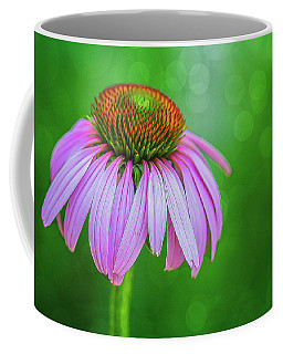 Glowing Cone Flower Coffee Mug