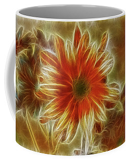 Glowing Flower Coffee Mug