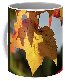 Glowing Leaves Coffee Mug