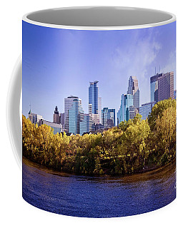 Glowing Minneapolis Coffee Mug