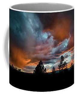 Coffee Mug featuring the photograph Glowing Mists by Jason Coward