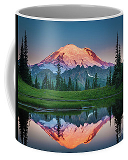 Glowing Peak - August Coffee Mug