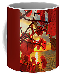 Glowing Red Coffee Mug