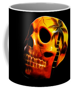 Glowing Skull Coffee Mug