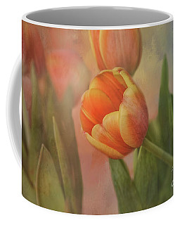 Glowing Tulip Coffee Mug by Joan Bertucci