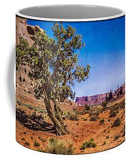 Gnarled Utah Juniper At Monument Vally Coffee Mug