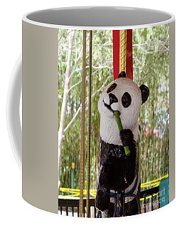 Go Round And Round Coffee Mug by Donna Brown
