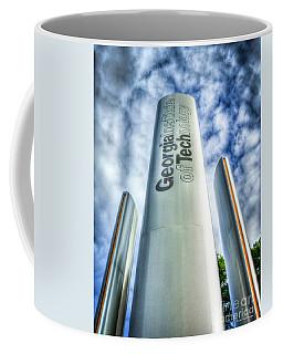 Coffee Mug featuring the photograph Go Tech 2 Georgia Tech Art by Reid Callaway
