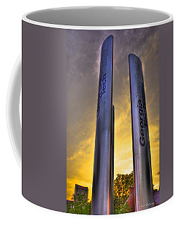 Go Tech Georgia Tech Sunset Art Coffee Mug