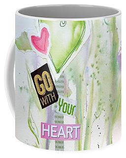 Go With Your Heart Coffee Mug