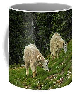 Goat Garden Coffee Mug