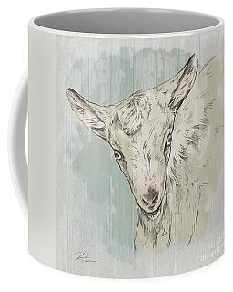 Goat Portrait-farm Animals Coffee Mug