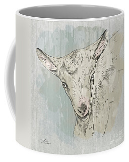 Goat Portrait-farm Animals Coffee Mug