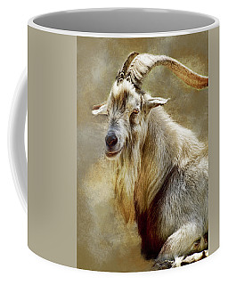 Goat Portrait Coffee Mug