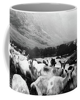 Coffee Mug featuring the mixed media Goats In Norway- By Linda Woods by Linda Woods