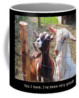 Coffee Mug featuring the photograph Goats Poster by Felipe Adan Lerma