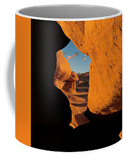 Goblin Valley  Look Through Coffee Mug