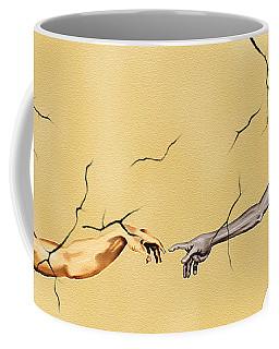 God And Man Coffee Mug