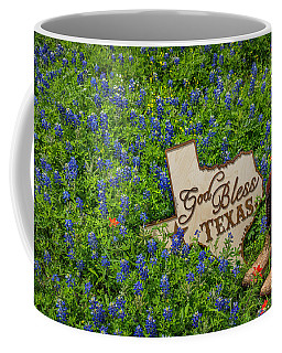 God Bless Texas II Coffee Mug