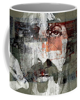 God I Think I'm The American Dream  Coffee Mug by Paul Lovering