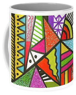 God Is Color Redux Coffee Mug by Susan Schanerman