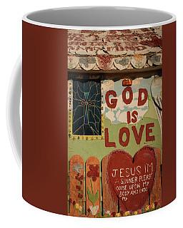 God Is Love Coffee Mug