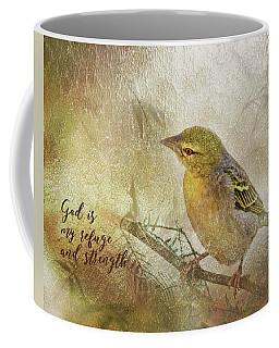 God Is My Refuge Coffee Mug