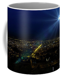 God Loves Cuenca Coffee Mug by Al Bourassa