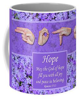 God Of Hope Coffee Mug
