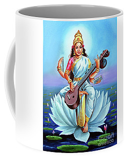 Goddess Of Wisdom And Knowledge Coffee Mug