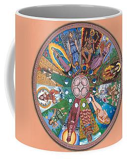 Goddess Wheel Guadalupe Coffee Mug by James Roderick