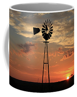 God's Country At Sunrise Coffee Mug