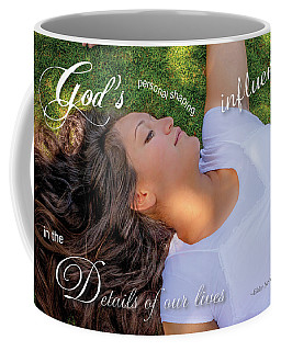 Gods Influence Coffee Mug by Denise Bird
