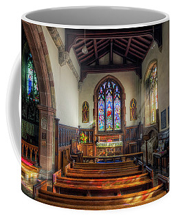 Coffee Mug featuring the photograph Gods Light by Ian Mitchell