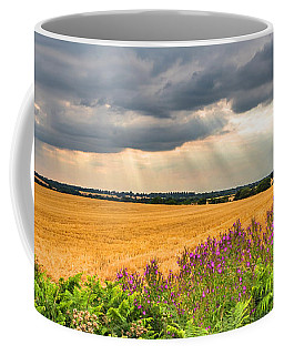 Coffee Mug featuring the photograph Gods Light by Nick Bywater