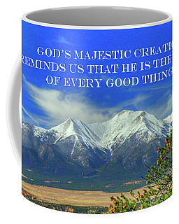 God's Majestic Creation Coffee Mug