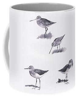 Godwits And Green Sandpipers Coffee Mug