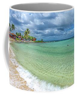 Goff's Caye Belize Pano Coffee Mug