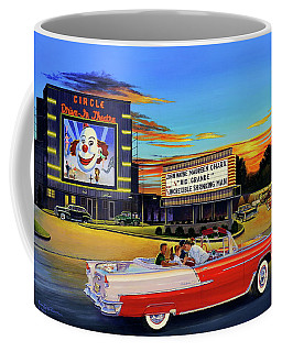 Goin' Steady - The Circle Drive-in Theatre Coffee Mug