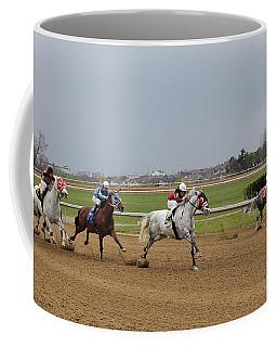 Going A Quarter Mile Coffee Mug by Davandra Cribbie