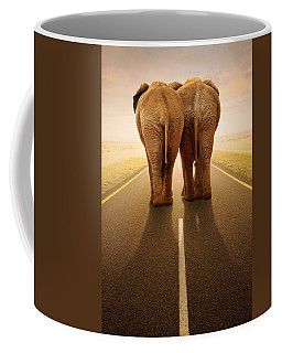 Going Away Together / Travelling By Road Coffee Mug