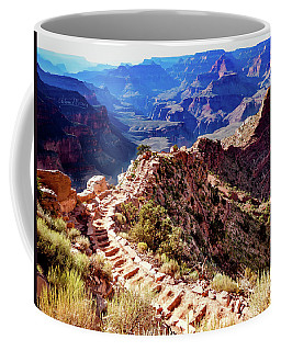 Going Down Coffee Mug